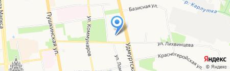 Эстетика на карте Ижевска