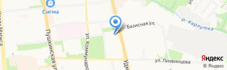 Освежение на карте Ижевска