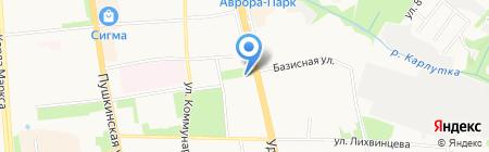 Центр экономического образования молодежи и предпринимательства на карте Ижевска