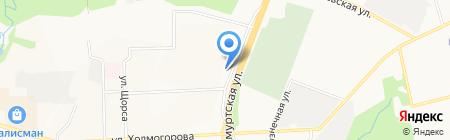 Телепорт-тур на карте Ижевска