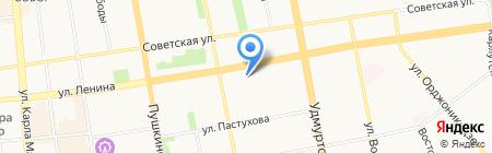 Методический центр на карте Ижевска