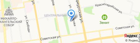 Государственный театр кукол Удмуртской Республики на карте Ижевска
