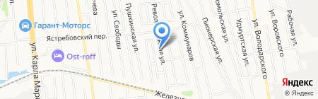 Автокеа на карте Ижевска