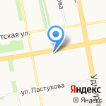 BNB на карте Ижевска