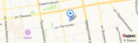 Доктор Ватсон на карте Ижевска