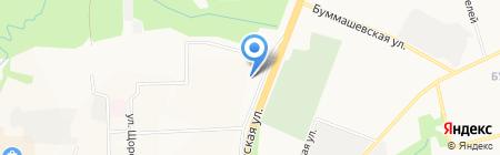 T-brend на карте Ижевска