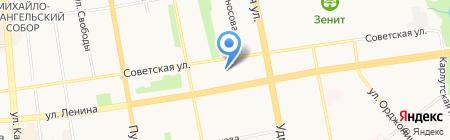 Белый клык на карте Ижевска