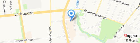 Престиж на карте Ижевска