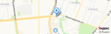 Шкап на карте Ижевска