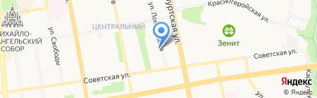 Арбитражный суд Удмуртской Республики на карте Ижевска