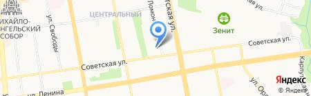 Проектное бюро на карте Ижевска