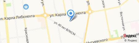 Средняя общеобразовательная школа №97 с полным днем пребывания детей на карте Ижевска