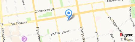 Мальчики-Зайчики на карте Ижевска