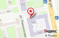 Схема проезда до компании Парк Цифровых Услуг  в Ижевске