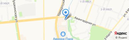 Бош Термотехника на карте Ижевска