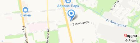 Виртуаль на карте Ижевска