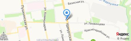 Сити-Мебель на карте Ижевска