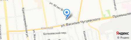 Агроцентр на карте Ижевска