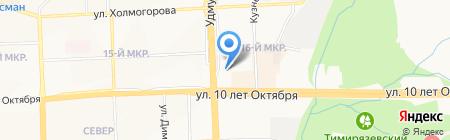 АСК-Мед на карте Ижевска