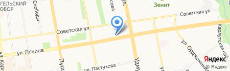 Настроим на карте Ижевска