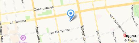 Sushi time на карте Ижевска
