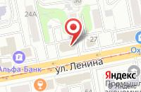 Схема проезда до компании Партнер в Ижевске