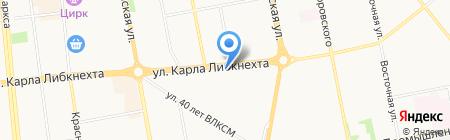 ИжПромКомплект на карте Ижевска