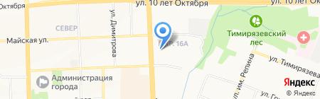 БКМ Строй на карте Ижевска