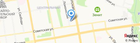 Ветсервис на карте Ижевска