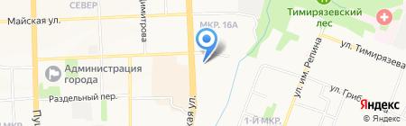 Центр повышения квалификации работников культуры Удмуртской Республики на карте Ижевска
