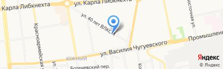 Детский сад №131 на карте Ижевска