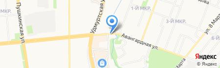 Сафари на карте Ижевска