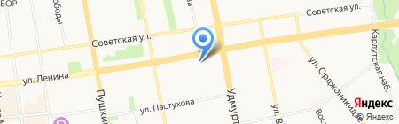 Прокси на карте Ижевска