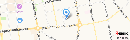 Концепт-проект на карте Ижевска