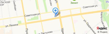 Кредит-Сервис на карте Ижевска