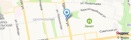 УдГУ на карте Ижевска