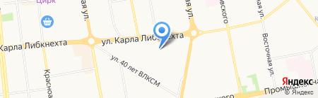Московский психолого-социальный университет на карте Ижевска