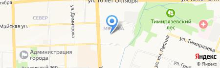 Сафари Бьюти на карте Ижевска