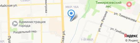 School of dance №1 на карте Ижевска
