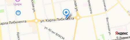 РеСто на карте Ижевска