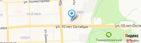 АльтераМед на карте Ижевска