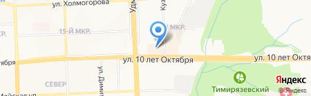 Счастливые окна на карте Ижевска