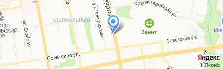 Колеса дешево на карте Ижевска