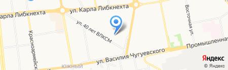Интех на карте Ижевска