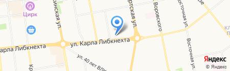 Императрица на карте Ижевска