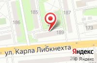 Схема проезда до компании Ижевск в Ижевске