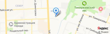 Министерство природных ресурсов и охраны окружающей среды Удмуртской Республики на карте Ижевска