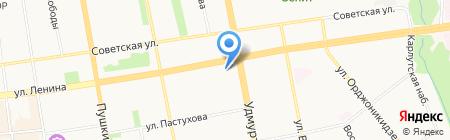 Соло-Экспресс на карте Ижевска