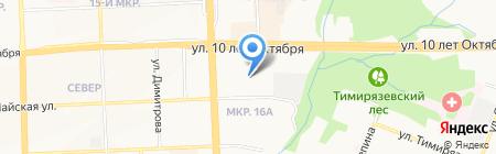 Артемий на карте Ижевска