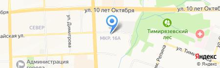 ДельтаСтрой на карте Ижевска